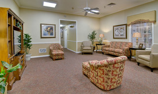 Lebanon assisted living tv lounge