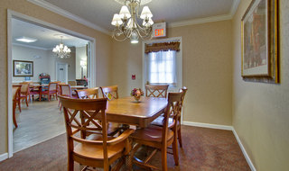 Private dining lebanon assisted living