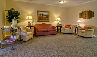 Olive branch assisted living entryway