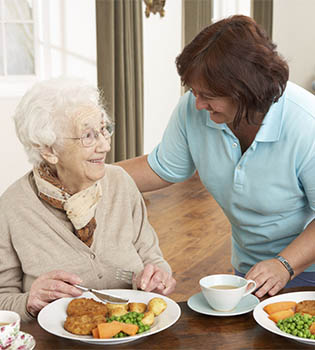 Skilled nursing dining services for senior living residents in Cunningham, KS.