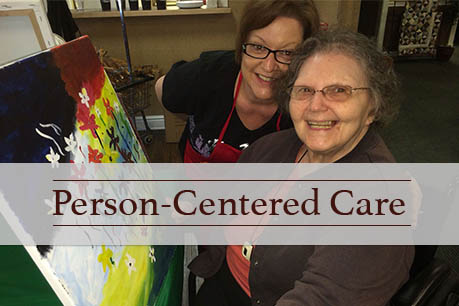 Harmony Gardens in Warrensburg, MO provides person-centered senior living senior services.
