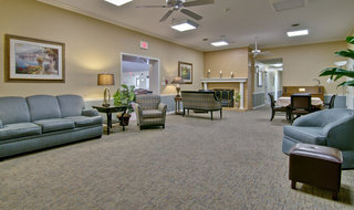 Communal area rolla assisted living