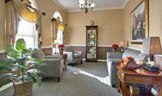 Community room at covington assisted living