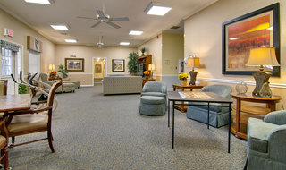 Covington assisted living community area