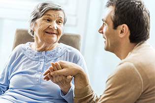 Senior living services for assisted living in Webb City, MO at Foxberry Terrace.