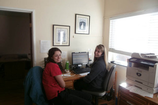 Phone room at minden veterinary clinic