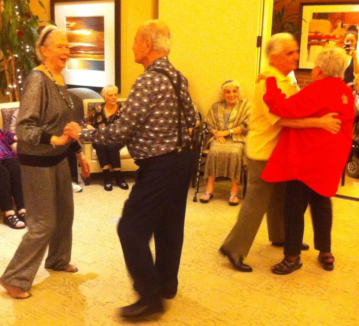 Residents Dance Their Way to Better Health
