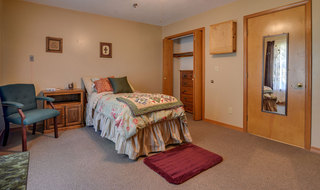 Single bedroom oswego assisted living