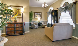 Community room moberly assisted living