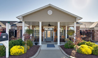 Moberly assisted living entry way