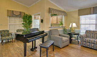 Moberly assisted living music room