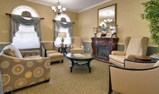 Moberly assisted living reading lounge
