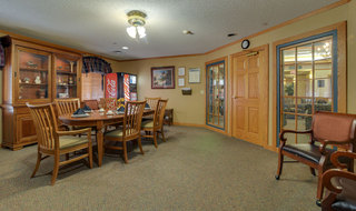 Great bend assisted living community dining