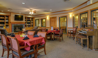 Great bend assisted living dining hall
