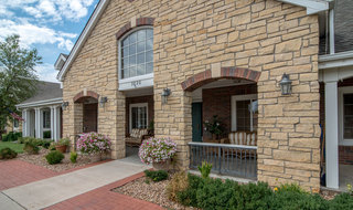 Great bend assisted living entrance