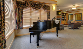 Great bend assisted living music room
