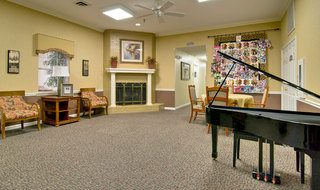Music room at poplar bluff assisted living