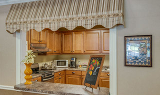Mcminnville assisted living kitchen