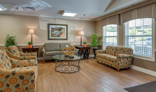 Mcminnville assisted living lobby