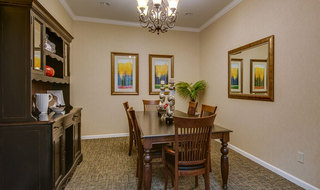 Private dining at mcminnville assisted living