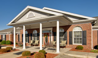 Joplin assisted living main entry