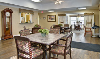 Kitchen and dinning area at washington assisted living