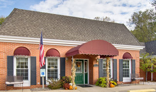 Main entry to washington assisted living