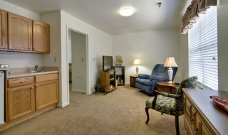 Springfield assisted living kitchen