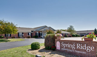 Springfield assisted living parking lot