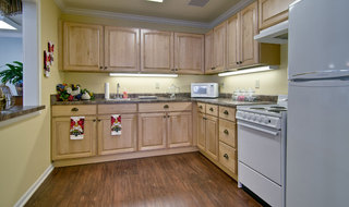 Kitchen at neosho assisted living
