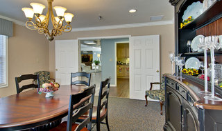Private dining at neosho assisted living