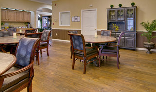 Dining area at kennett assisted living