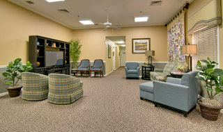 Kennett assisted living tv lounge