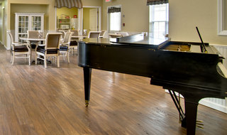 Music room at kennett assisted living