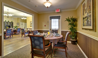 Private dining at kennett assisted living