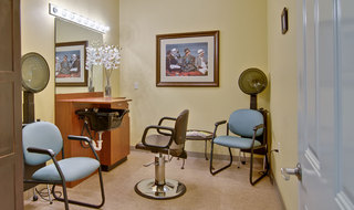 Troy assisted living hair salon