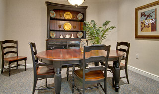 Troy assisted living private dining