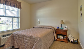 Troy assisted living single bedroom