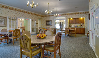 Dining area at mexico assisted living