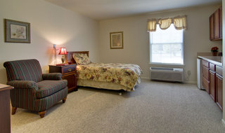 Mexico assisted living single bedroom
