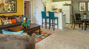 See our 1 & 2 bedroom apartment floor plans