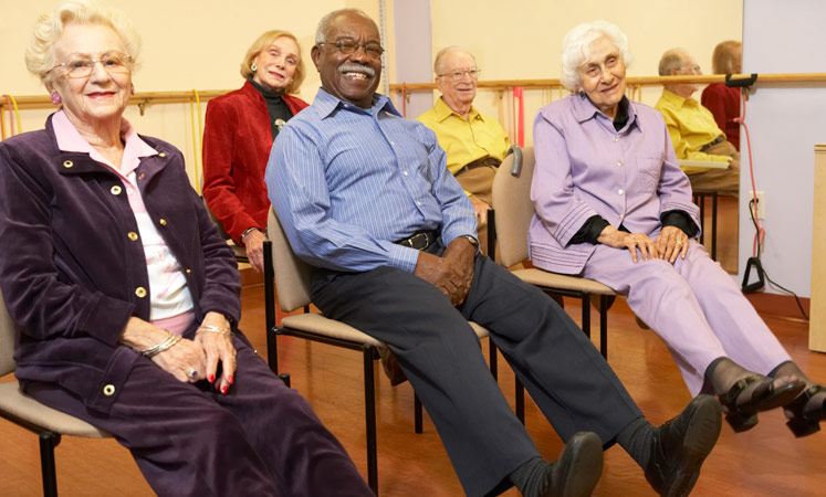 Wichita senior living health and wellness class