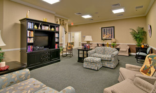 Assisted living area for residents in collierville