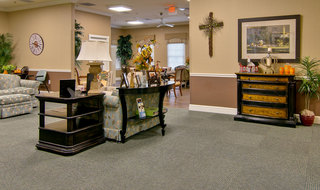 Assisted living community area in collierville