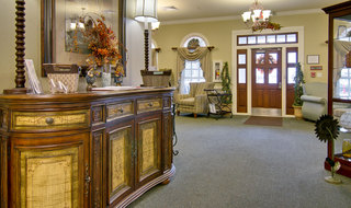 Assisted living community entrance in collierville