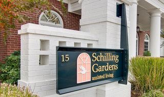 Collierville assisted living community entrance