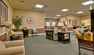 Collierville assisted living community room