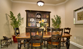 Collierville assisted living dining table jpg