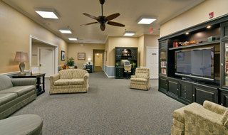 Assisted living tv room in henderson