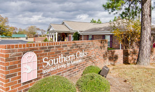 Henderson assisted living community entrance